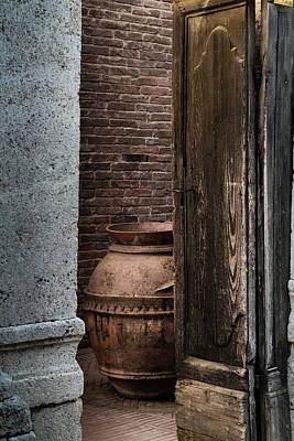 Roman Vase Poster