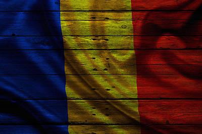 Romania Poster by Joe Hamilton