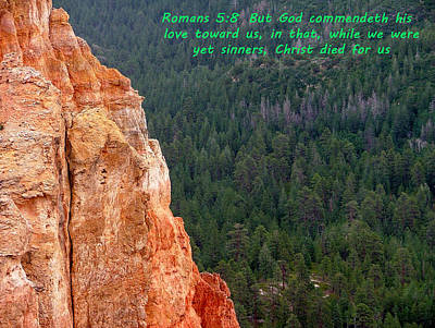Bryce Canyon N. P. Romans 1-8 Poster by Nelson Skinner
