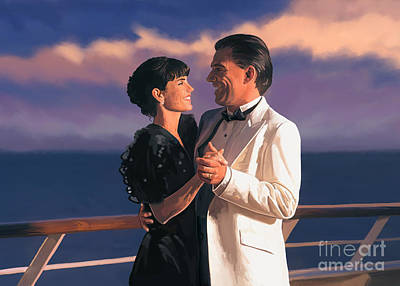 Poster featuring the painting Romantic Cruise by Tim Gilliland