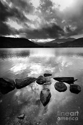 Romantic Lake Poster by Bernard Jaubert