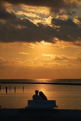 Romantic Sunrise Poster