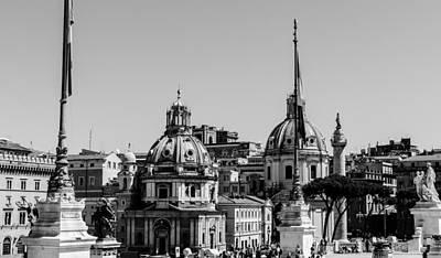 Rome - Cityscape Poster by Andrea Mazzocchetti