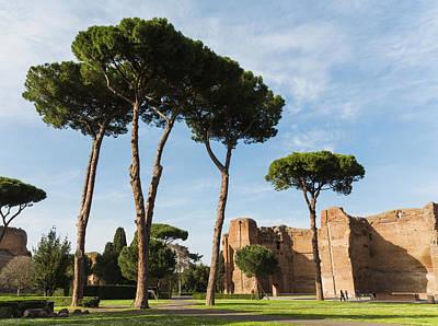 Rome, Italy. Terme Di Caracalla, Or Poster