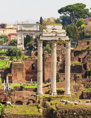 Rome, Italy. The Roman Forum Poster