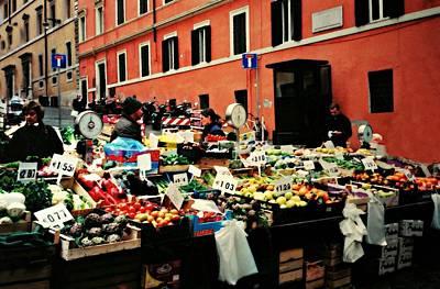 Rome Market Poster