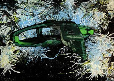 Romulan Warbird Poster by Judith Groeger