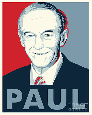 Ron Paul Poster by John Lehman