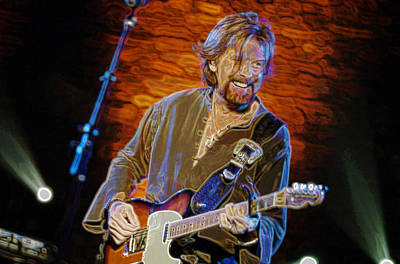 Ronnie Dunn  Brooks And Dunn Poster by Don Olea
