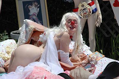 Roobie Breastnut In The Wedding 165 Poster by Liezel Rubin
