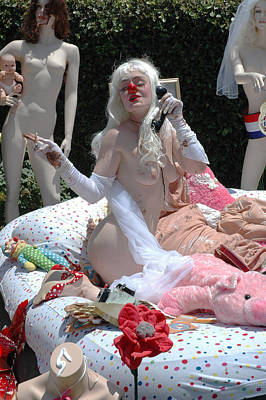 Roobie Breastnut In The Wedding 168 Poster by Liezel Rubin