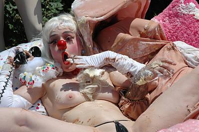 Roobie Breastnut In The Wedding 185 Poster by Liezel Rubin