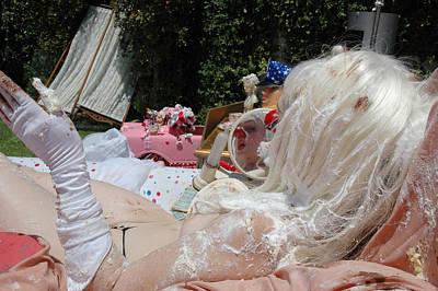 Roobie Breastnut In The Wedding 195 Poster by Liezel Rubin