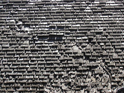 Roof Textures Poster by Bonnie Muir