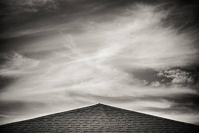 Poster featuring the photograph Rooftop Sky by Darryl Dalton