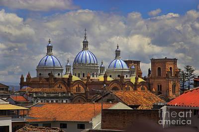 Rooftops Of Cuenca II Poster