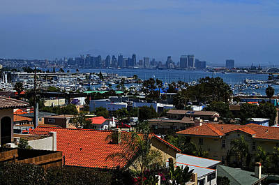 Rooftops Of Point Loma Poster by See My  Photos