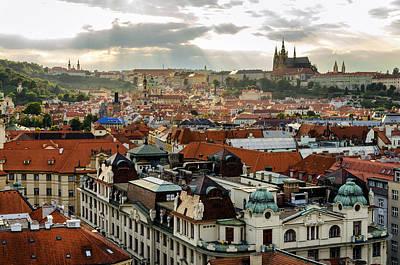 Rooftops Of Prague 2 Poster