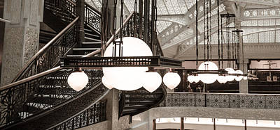 Rookery Building Lights Poster