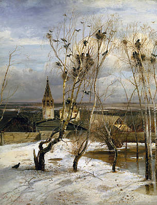 Rooks Have Returned Poster by Alexei Savrasov
