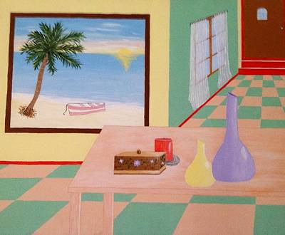Room With A View Poster by Inge Lewis