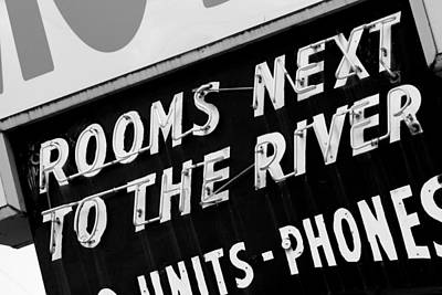Rooms Next To The River Poster by Daniel Woodrum