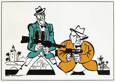 Roosevelt & Churchill, 1942 Poster by Granger