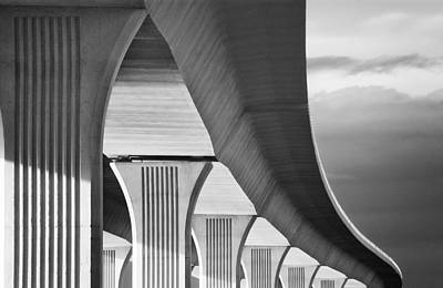 Roosevelt Bridge2 Poster by Patrick M Lynch