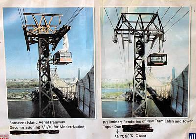 Roosevelt Island Tramway Poster