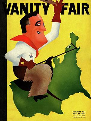 Roosevelt Riding The U.s Poster