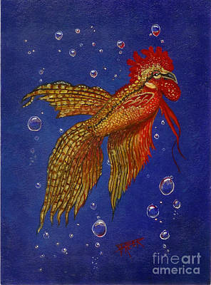 Roosterfish II Poster