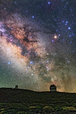 Roque De Los Muchachos Observatory Poster