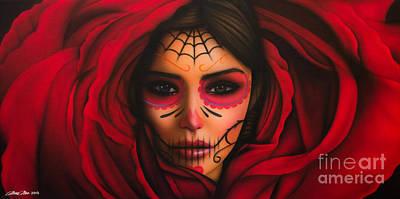 Rosa Poster by Daniel Rivera