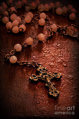 Rosary Love Poster by Margie Hurwich