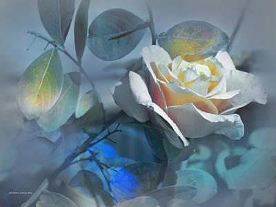 Rosas De Septiembre Poster by Alfonso Garcia