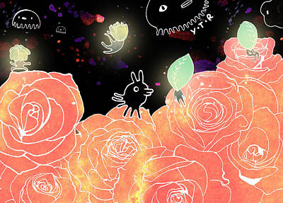 Rose Garden  Poster by Yoyo Zhao