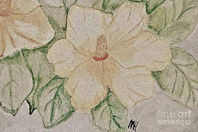 Rose Of Sharon Painting Poster by Marsha Heiken