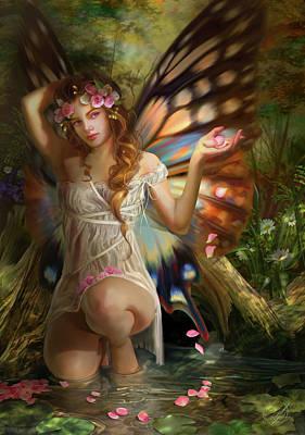 Rose Petals Poster by Drazenka Kimpel