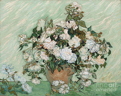 Roses Poster by Vincent Van Gogh