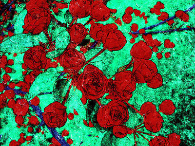 The Red Roses Poster