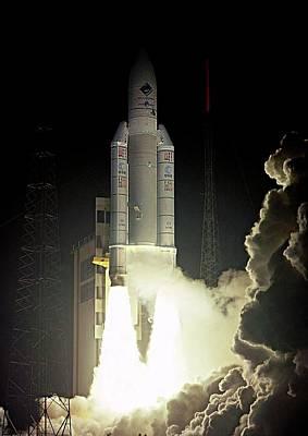 Rosetta Spacecraft Launch Poster