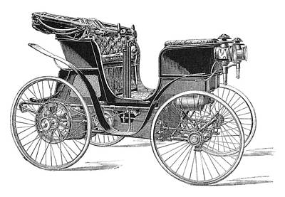 Rossel Petrol Car, 1897 Poster by Science Photo Library