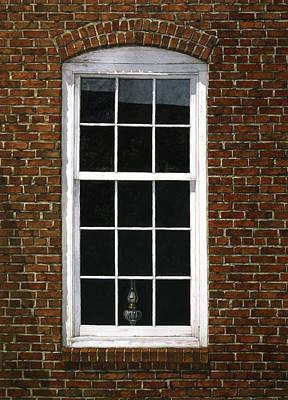 Roswell Window Poster by Tom Wooldridge