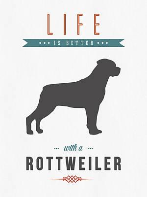 Rottweiler 01 Poster