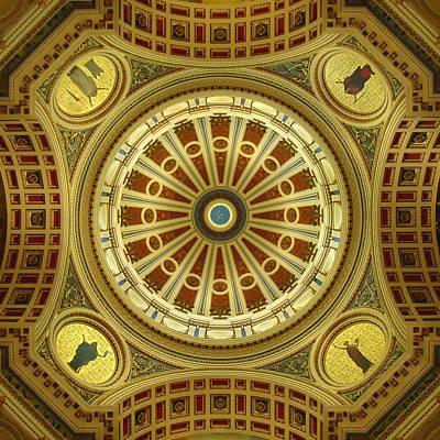 Rotunda Poster by Joseph Skompski