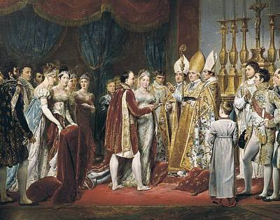 Rouget, Georges 1784-1869. The Marriage Poster