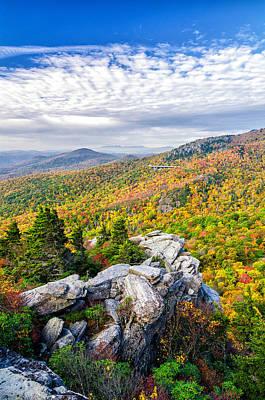 Rough Ridge Fall Poster