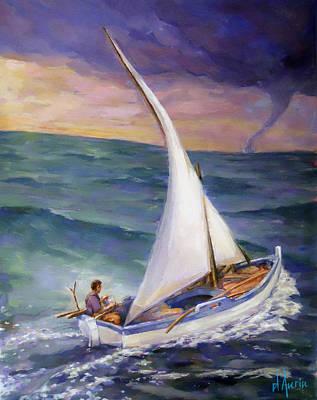 Rough Seas Ahead Poster