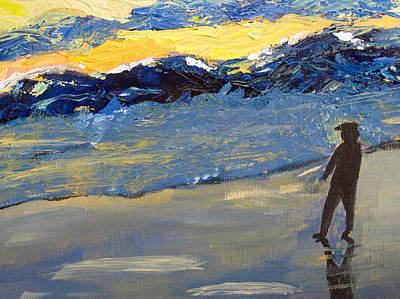 Rough Seas Poster by Lou Belcher