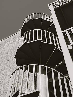 Round And Round Poster by Roseann Errigo